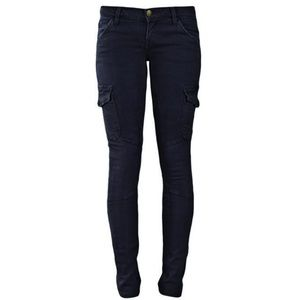 Current/Elliott Skinny Cargo Black Jeans
